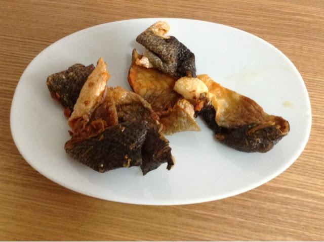 C O O K I N G D A D Crispy Fried Fish Skin