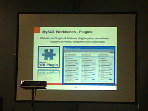#FISL 12: novidades do #MySQL 5.5 e 5.6 4