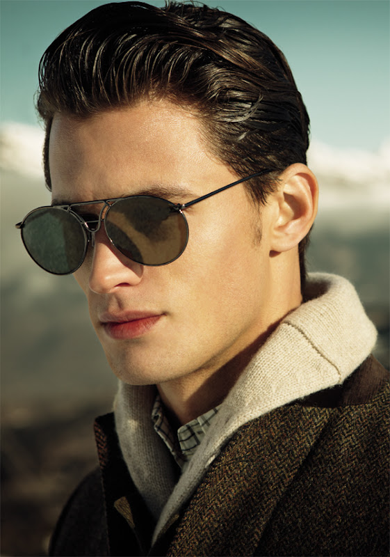 Garrett Neff for Gant F/W 2011-12 (detail), photo credit TBD
