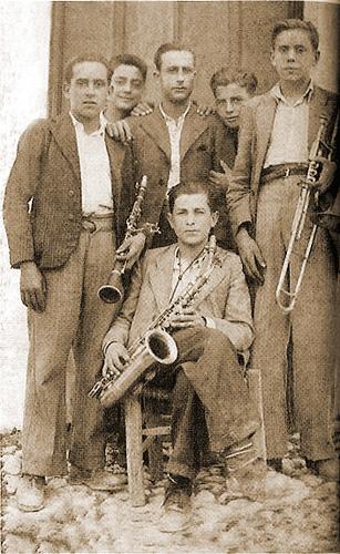 1947 - Banda de Música. Campillo de Arenas