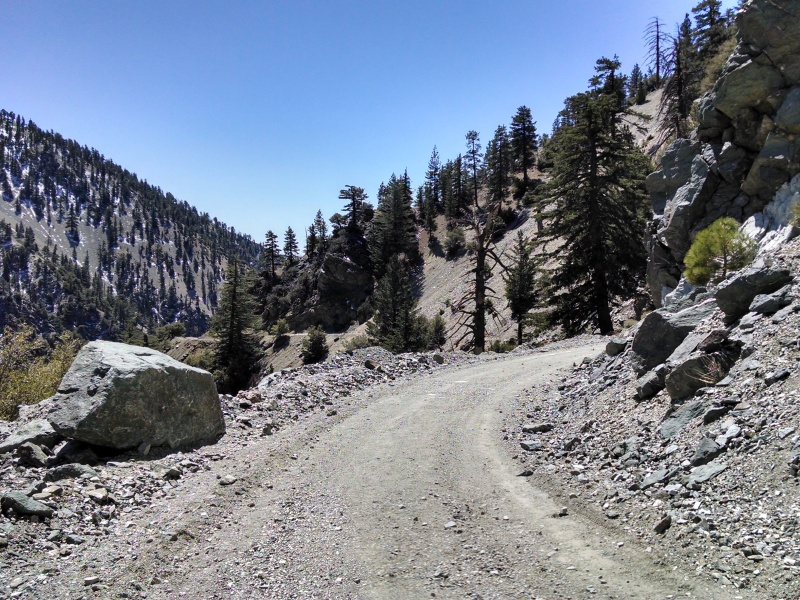 Mount Baldy Notch and Crystal Lake • Mount Baldy Dirt Road