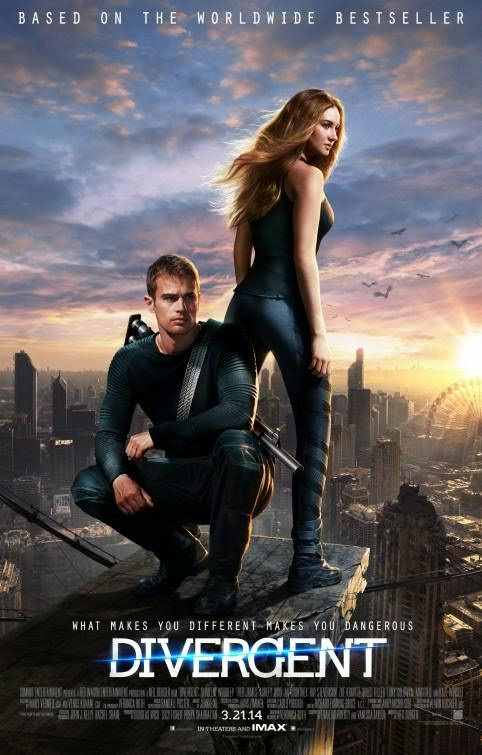 Poster Of English Movie Divergent (2014) Free Download Full New Hollywood Movie Watch Online At alldownloads4u.com
