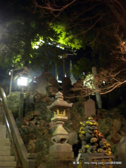 石階兩旁的造景
