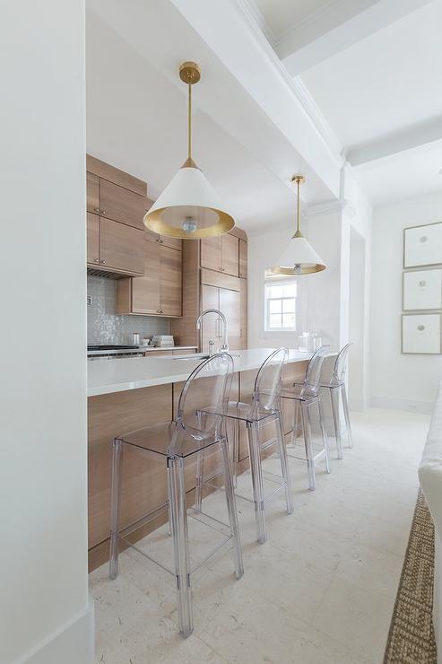 ghost bar stool for kitchen interior design trends spring 2020