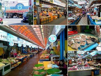 韓国 済州島 東門市場