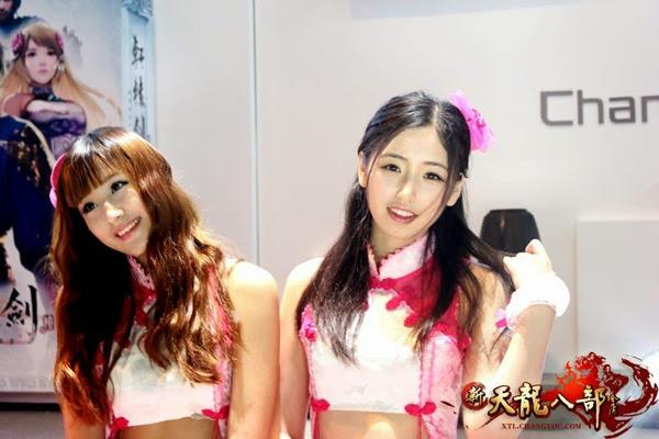 Ngắm showgirl tại gian hàng Tân Thiên Long Bát Bộ 6