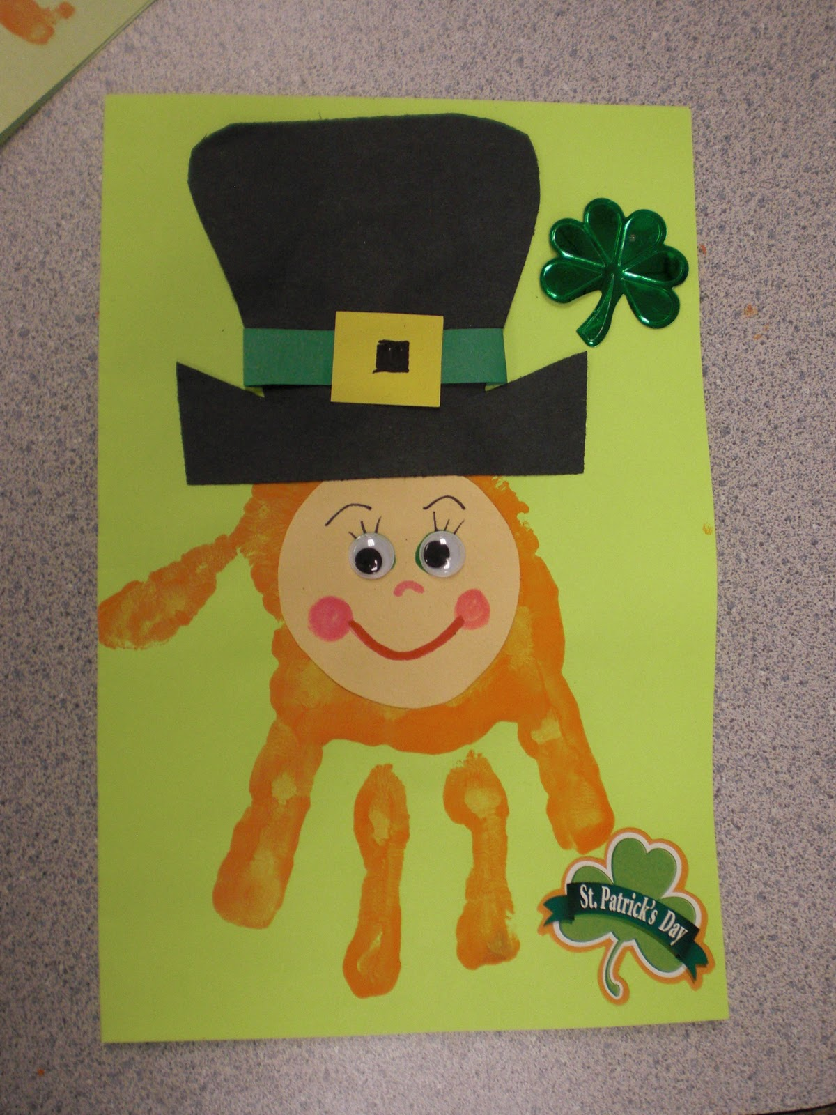 March arts and crafts - Thursday March 17 2011