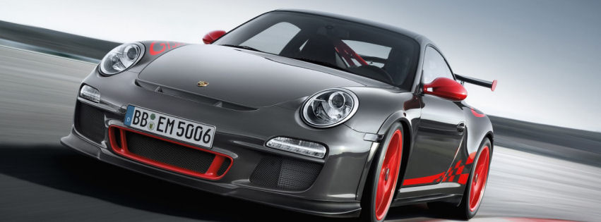Porsche 911 gt3 rs 2012 facebook cover