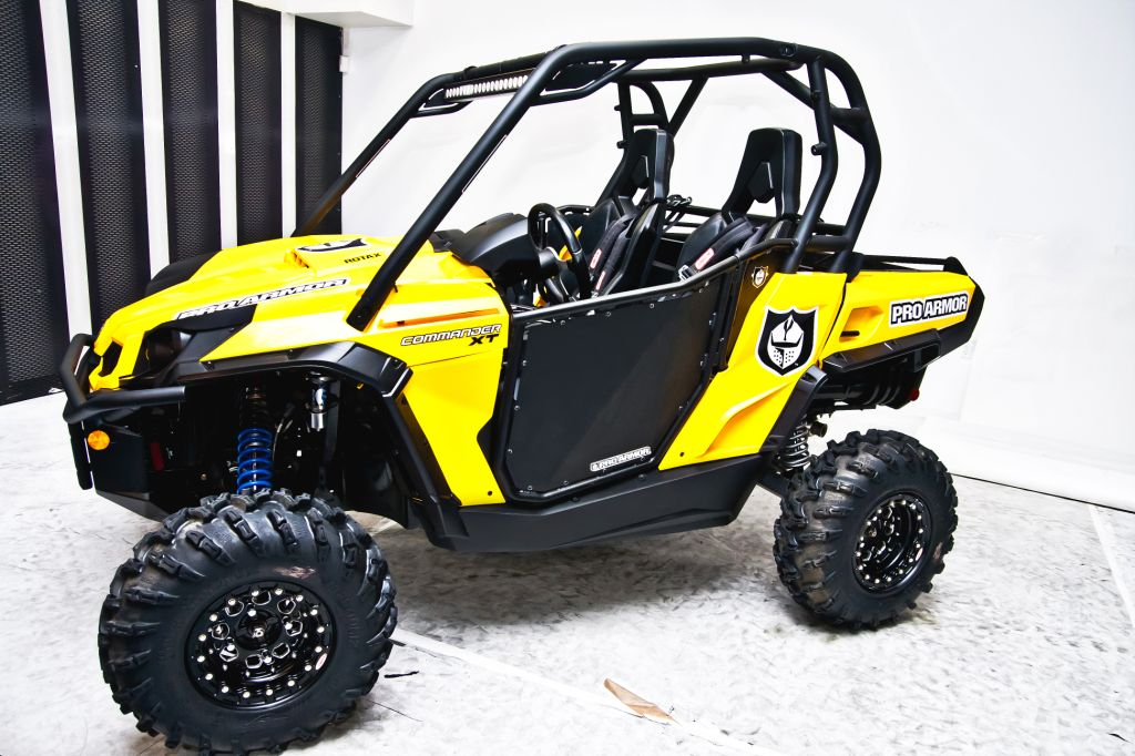 ... construction to save weight and ensure strength and durability for any type of riding or racing. The doors are direct bolt on to your Commander. & Can-Am Commander Doors now available from Pro Armor - UTV Guide