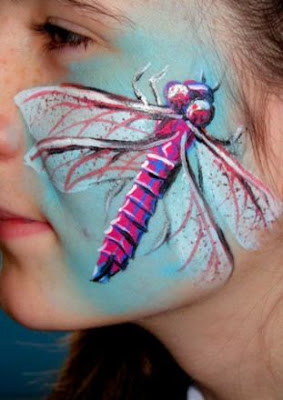 Dragonfly Body Paint Art  Body Paint   Body Art Pictures Gallery