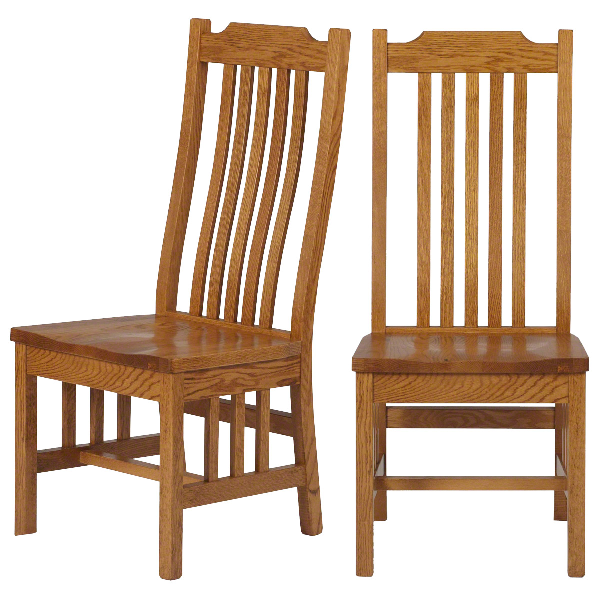 Mission Dining Chair In Medium Oak ...