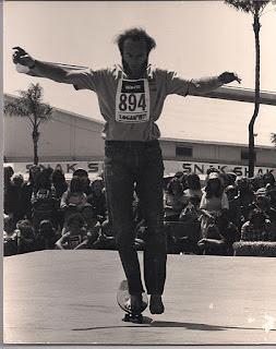 Brian Logan Earthski hanging 5