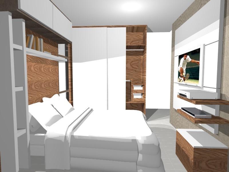 decoracao de apartamentos pequenos quarto casal:Arte e Decoração: Decoração para apartamentos pequenos