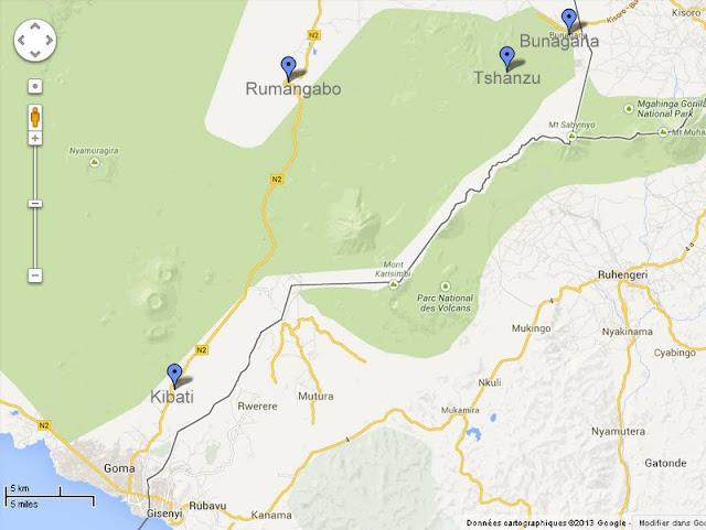 """Les FARDC appuyées par la brigade d'intervention de la Monusco ont délogé vendredi 30 août 2013 le M23 de la colline de """"trois antennes"""" à Kibati."""