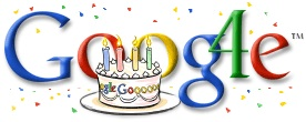 Google's 4th Birthday Doodle