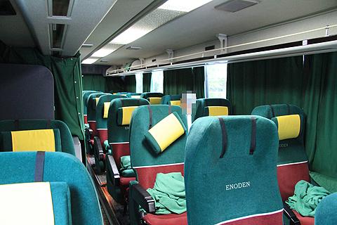 江ノ電バス藤沢「レイク&ポート号」 車内