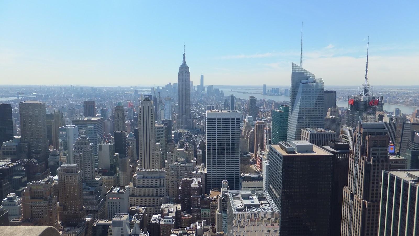 Manhattan vista desde The Top of the Rock, Elisa N, Blog de Viajes, Lifestyle, Travel