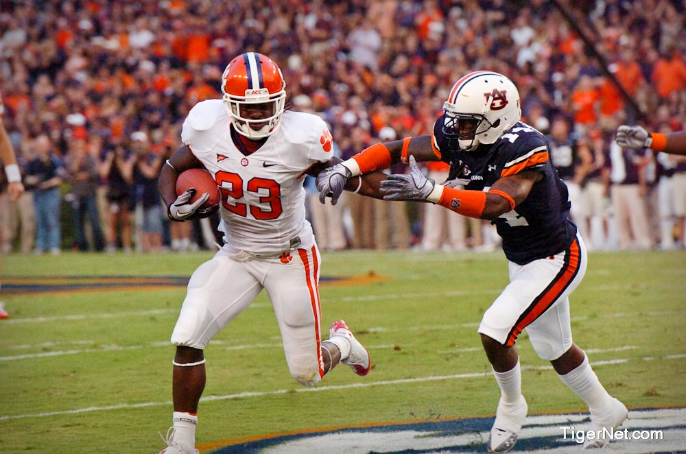 Clemson at Auburn Photos - 2010, Andre Ellington, Auburn, Football