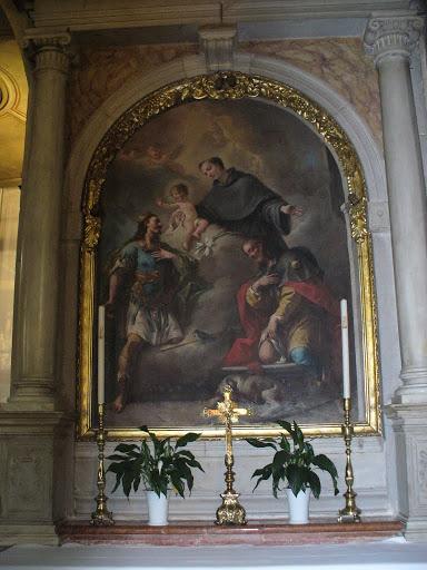 Pala dell'altare di Sant'Antonio