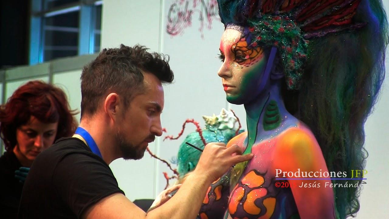 Body Painting campeonato Feria Valencia