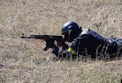 В Николаеве милиция и армия отрабатывали совместную работу по борьбе с террористами