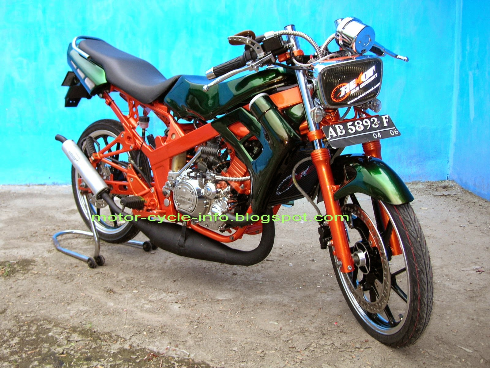 Kawasaki D Tracker Modifikasi Supermoto Kawasaki Klx 150 Modif Product