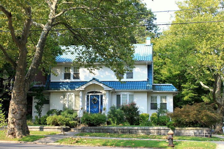 Blue Roof Home in Randall Manor Staten Island