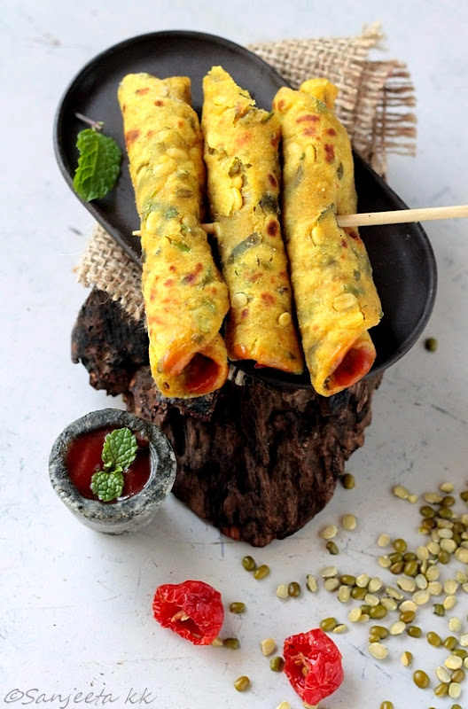 Recipes   Two Indian Flat Breads
