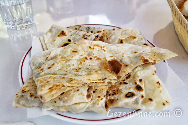 Kastamonu Eflanili Konağı'ndaki Pastırmalı Ekmek