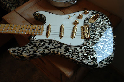 Custom Shop Art Esparza Moto Strat