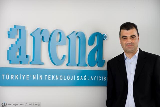 Arena Bilgisayar Pazarlamadan Sorumlu Genel Müdür Yardımcısı Tarık Tüzünsu