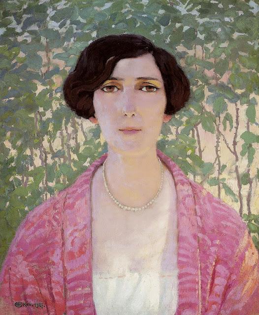 Edward Okun - Portrait of Baroness Frewert