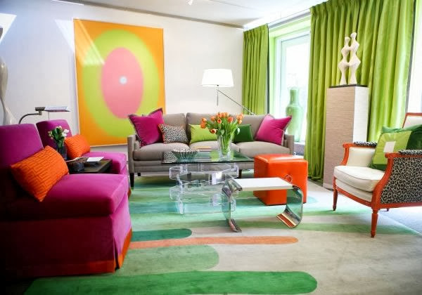 Color in home decoration