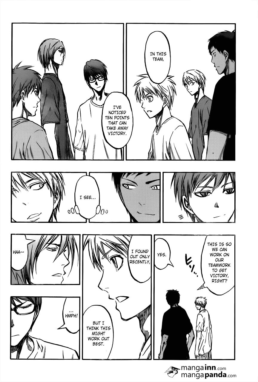 Kuroko no Basket Manga Chapter 212 - Image 14