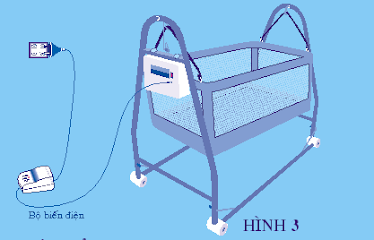 Cách lắp ráp nôi điện em bé Autoru 1 và 2 sao