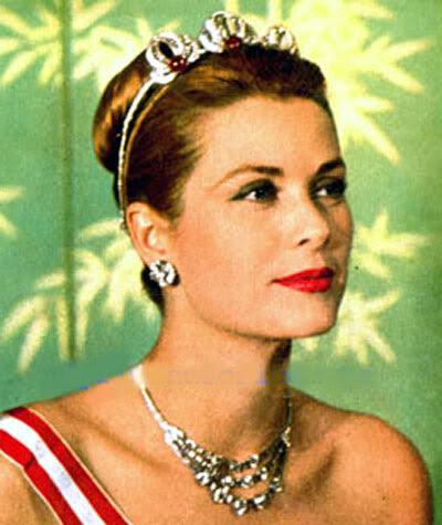 Joyas de la familia Principesca de Monaco Tiara18Grace