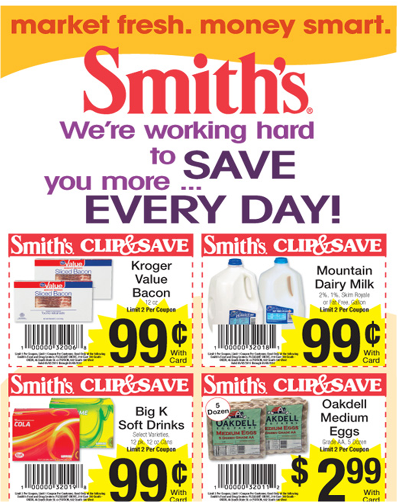 Smiths online grocery shopping