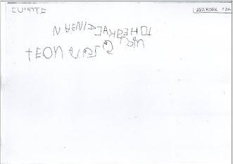 trazo diferenciado discontinuo- letras y símil-letras
