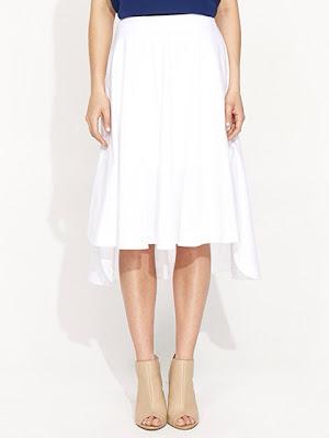 White midi skirt portmans