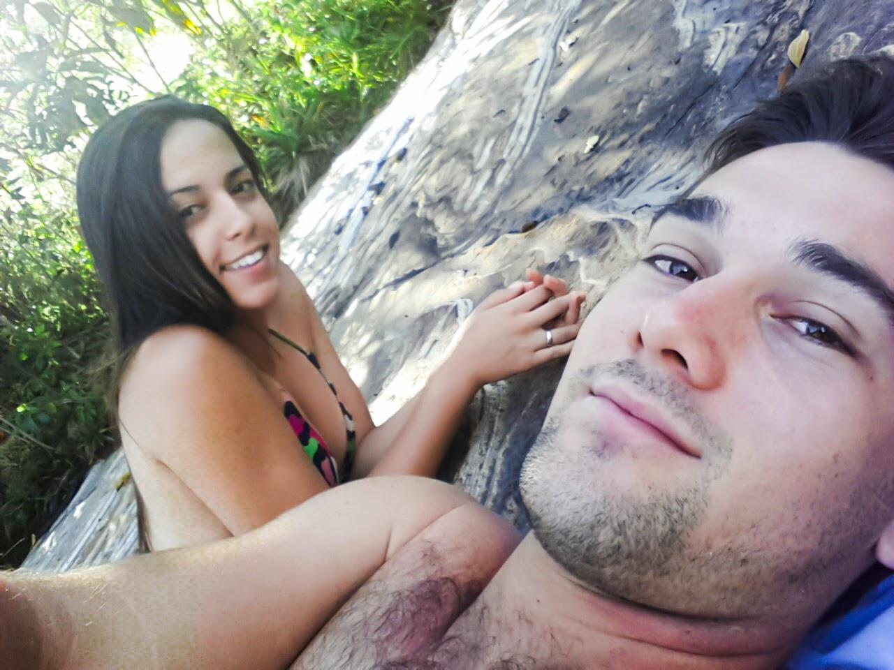 Casal Turista | Cachoeira da Serrinha | Complexo da Fumaça | Carrancas/MG