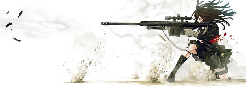 Anime sniper facebook cover