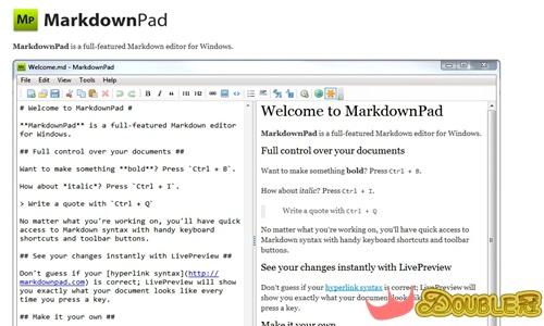 免費軟體系列-用MarkdownPad 輕鬆解決不會HTML語法的困擾