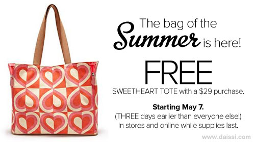 DSW Coupons Free Sweetheart Tote
