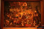 Brueghel, el viejo. Combate entre Don Carnaval y Doña Cuaresma. 1559