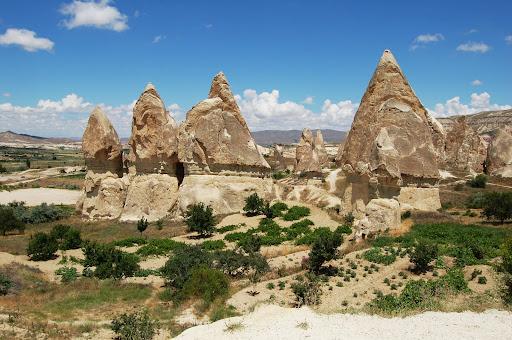 Турция: Каппадокия, скала