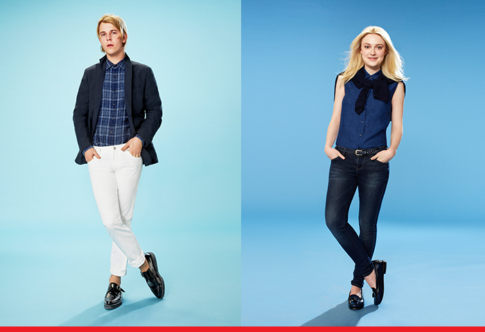 UNIQLO teams up with actress Dakota Fanning and musician Tom Odell