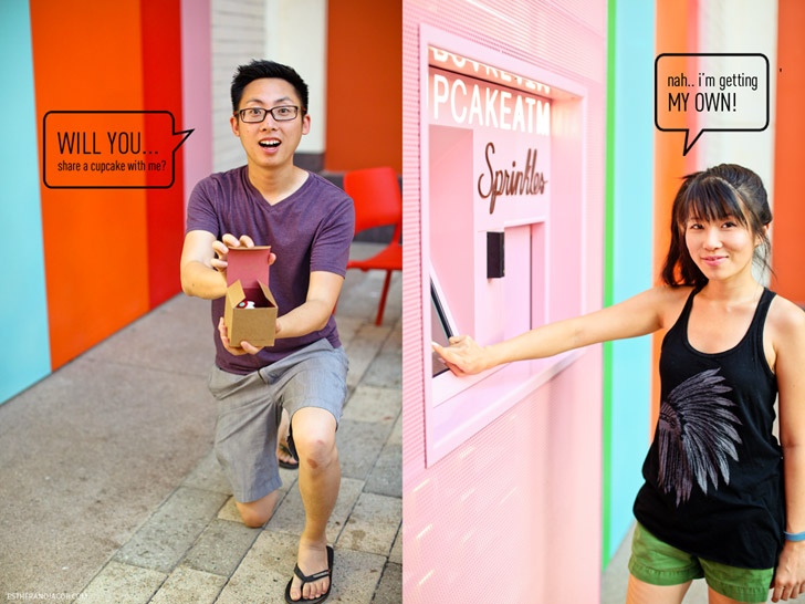 Local Adventure: 24 hour Sprinkles Cupcake ATM in Las Vegas!