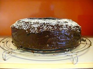 Gâteau au chocolat façon miss Gaby - recette indexée dans les Desserts