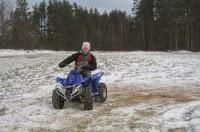 sniega motociklu noma Aglonas Alpos