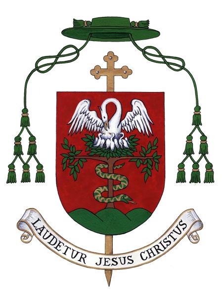 Spányi Antal püspök címere